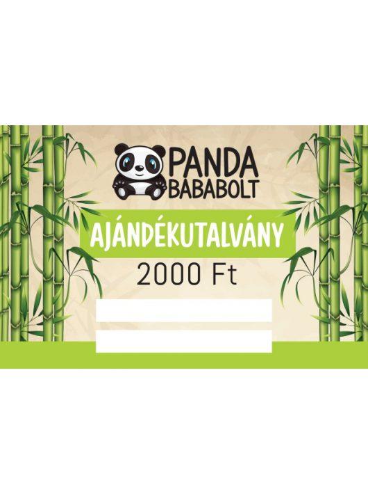 Panda Ajándékutalvány 2.500 Ft értékben